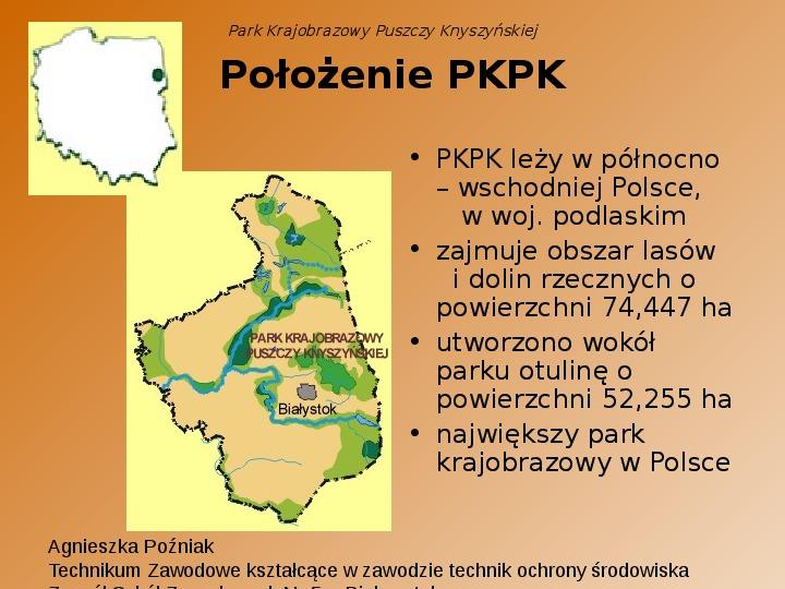 Park Krajobrazowy Puszczy Knyszyńskiej - Slajd 1
