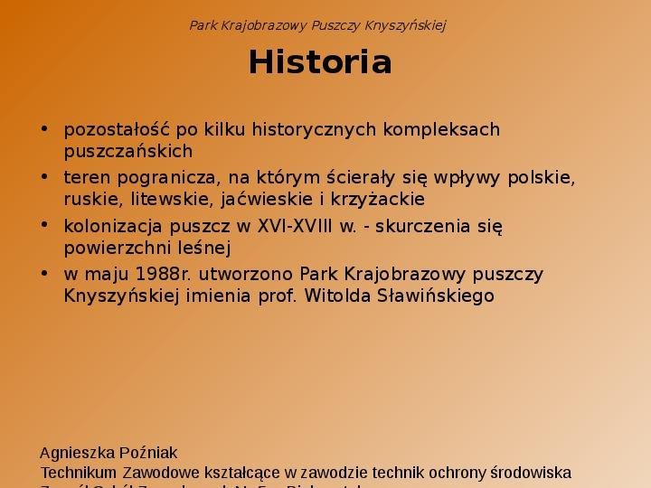 Park Krajobrazowy Puszczy Knyszyńskiej - Slajd 2