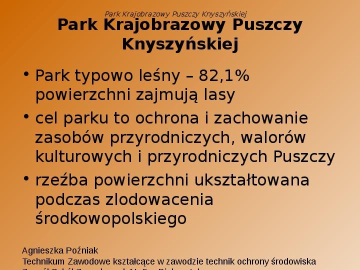 Park Krajobrazowy Puszczy Knyszyńskiej - Slajd 3