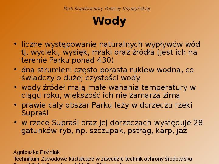 Park Krajobrazowy Puszczy Knyszyńskiej - Slajd 12