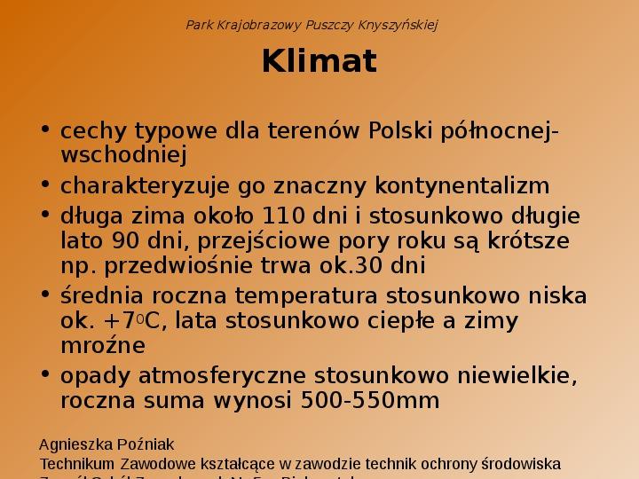 Park Krajobrazowy Puszczy Knyszyńskiej - Slajd 14