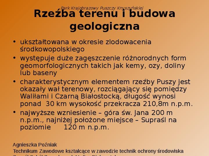 Park Krajobrazowy Puszczy Knyszyńskiej - Slajd 15