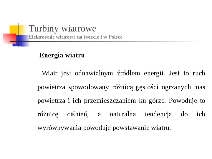 Energia wiatru - Slajd 4