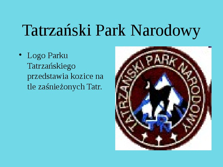 Tatrzański Park Narodowy - Slajd 0