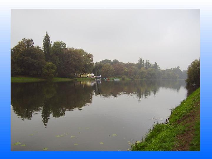 Nasze lokalne światy wodne Jeziorko Kamionkowskie - Slajd 1
