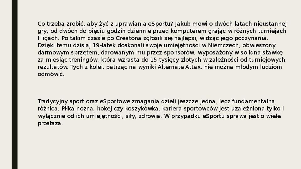 Esport - Slajd 15