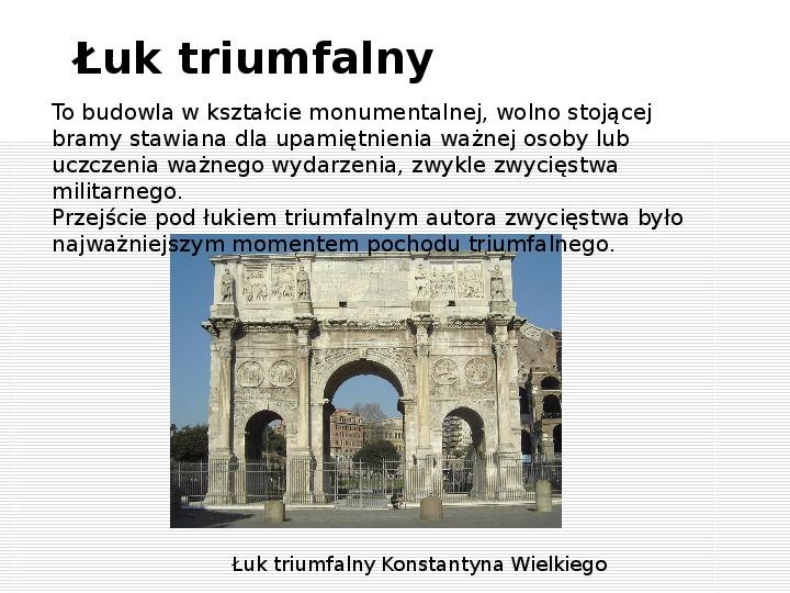 Bogowie starożytnego Rzymu i osiągnięcia techniczne Rzymian - Slajd 9