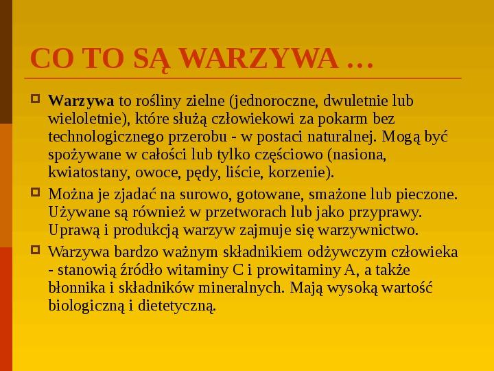 Co uprawiają i hodują ludzie w Polsce? - Slajd 20