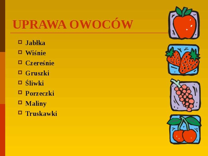 Co uprawiają i hodują ludzie w Polsce? - Slajd 30