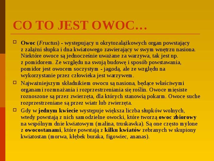 Co uprawiają i hodują ludzie w Polsce? - Slajd 31
