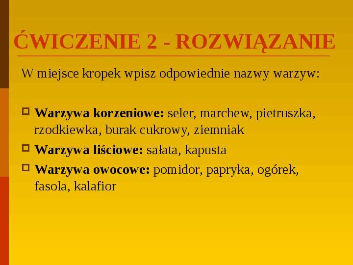 Co uprawiają i hodują ludzie w Polsce? - Slajd 40