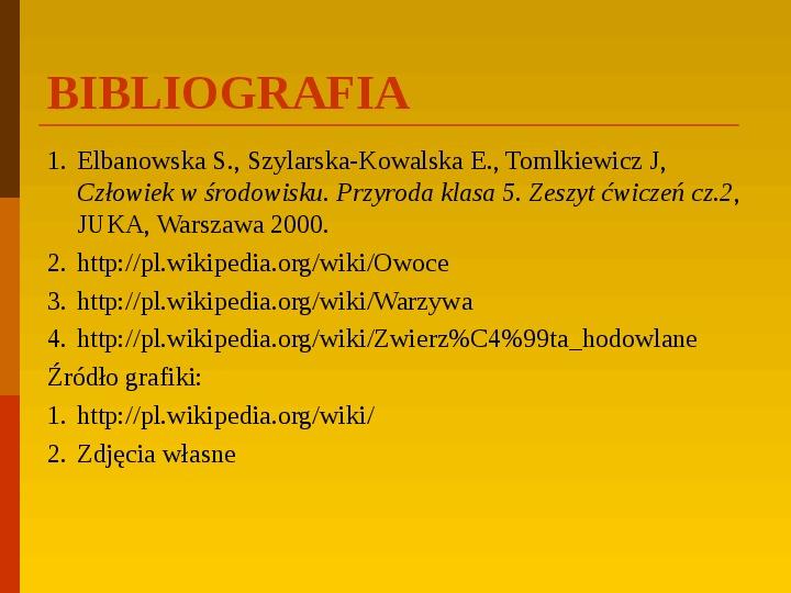 Co uprawiają i hodują ludzie w Polsce? - Slajd 43