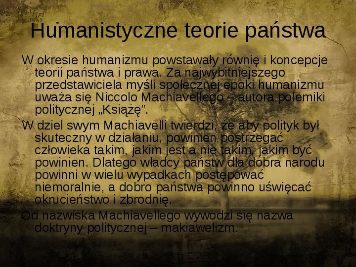 Człowiekiem jestem i nic co ludzkie obce mi nie jest - kultura renesansu - Slajd 3