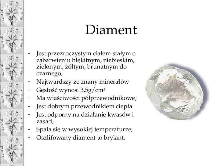 Diament - Slajd 5