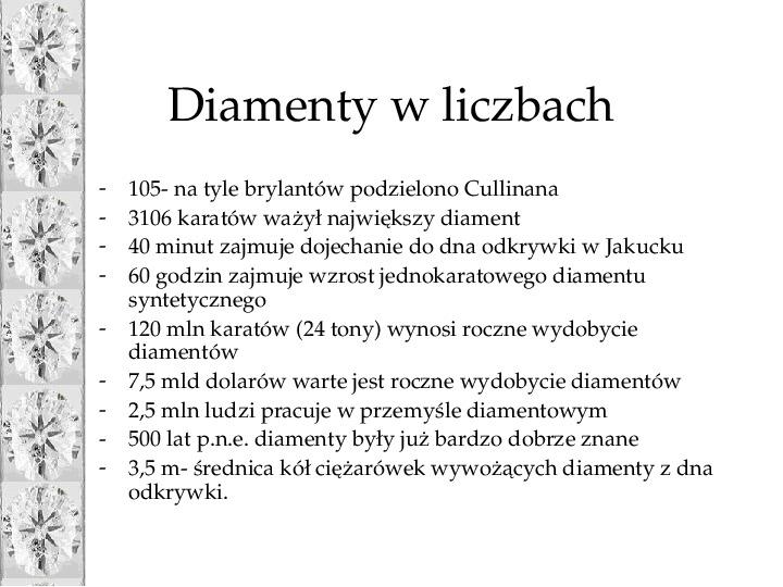 Diament - Slajd 34