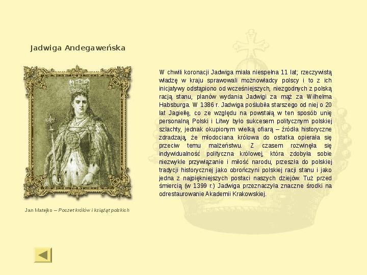 Królowie Polski z dynastii Jagiellonów - Slajd 10