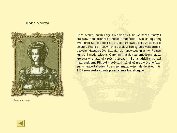 Królowie Polski z dynastii Jagiellonów - Slajd 12