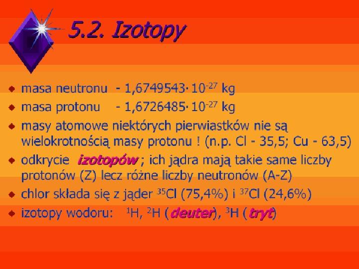 Fizyka jądrowa - Slajd 4