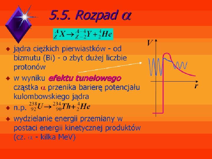 Fizyka jądrowa - Slajd 10