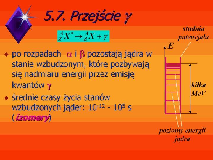 Fizyka jądrowa - Slajd 13
