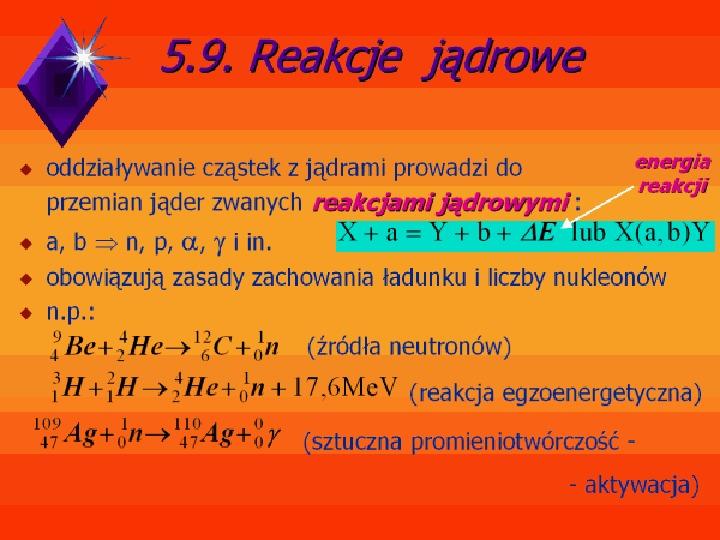 Fizyka jądrowa - Slajd 16