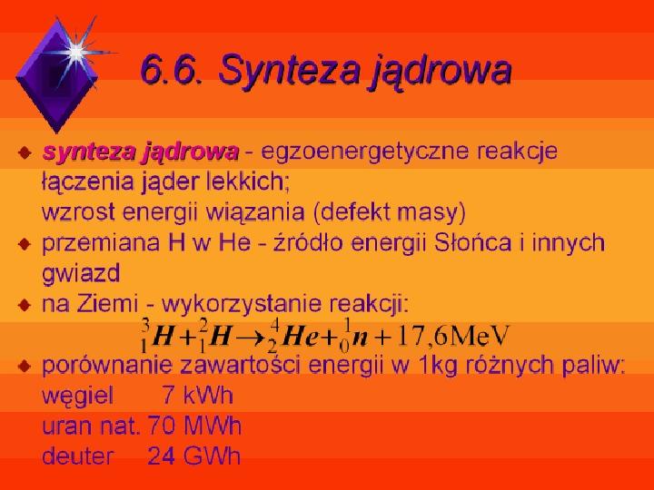 Fizyka jądrowa - Slajd 29