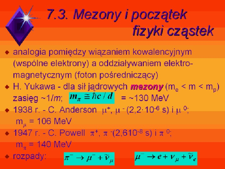 Fizyka jądrowa - Slajd 33