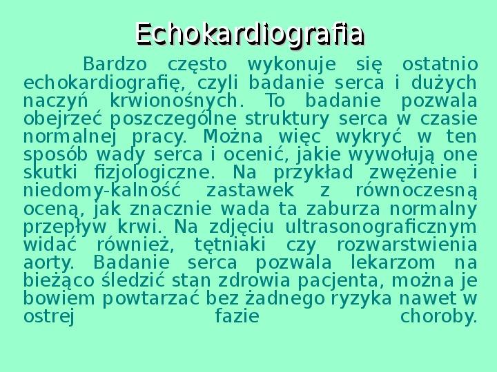 Fizyka w medycynie - Slajd 14