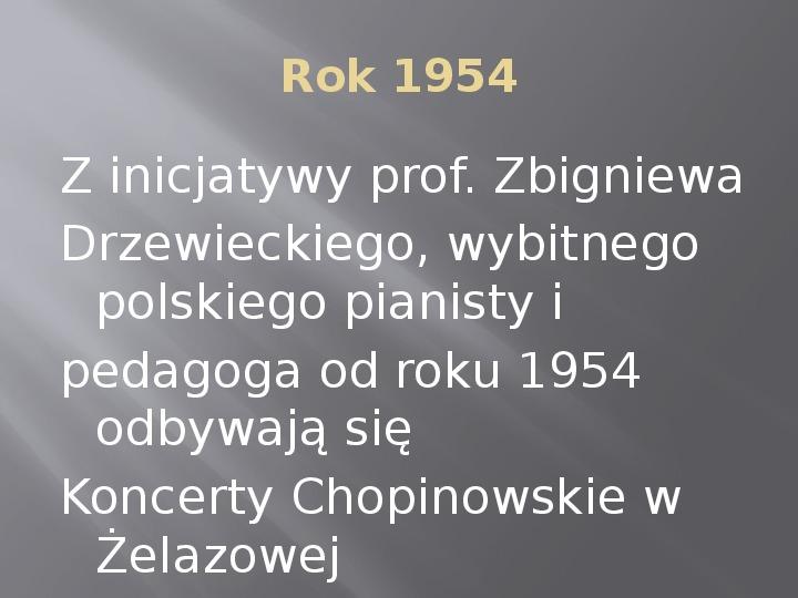 Fryderyk Chopin - kalendarium życia - Slajd 18