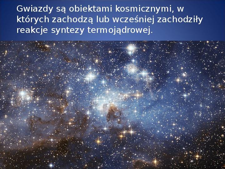 Grawitacja i elementy kosmologi - Slajd 8