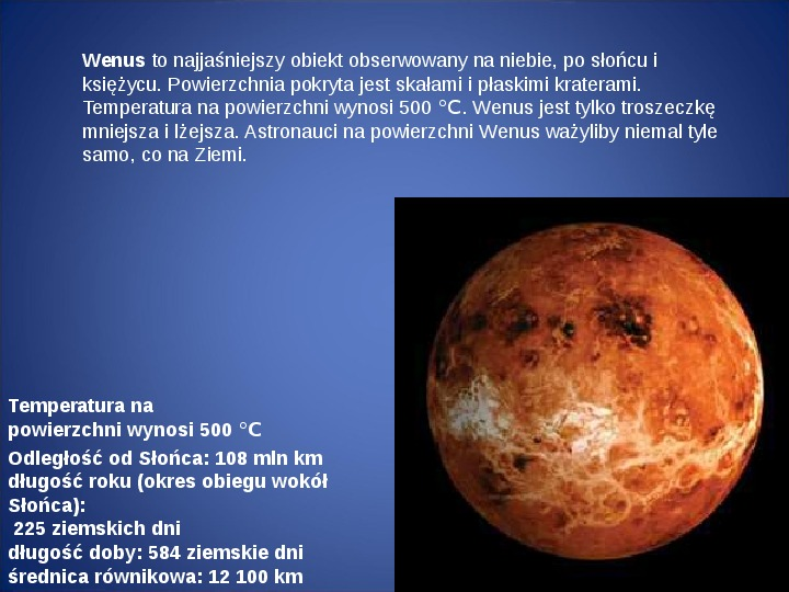 Grawitacja i elementy kosmologi - Slajd 14