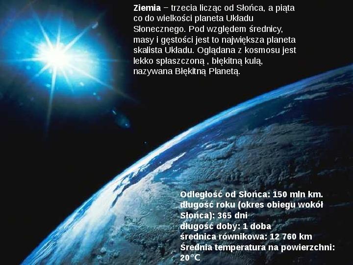 Grawitacja i elementy kosmologi - Slajd 15