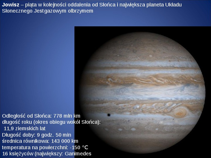 Grawitacja i elementy kosmologi - Slajd 18