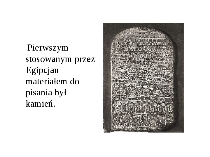 Historia pisma - Slajd 4