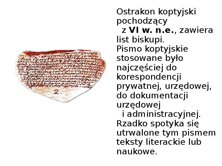 Historia pisma - Slajd 6
