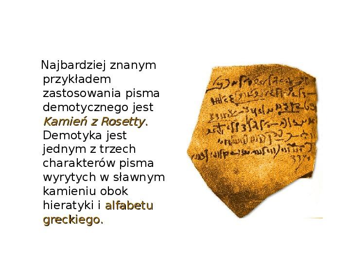 Historia pisma - Slajd 10