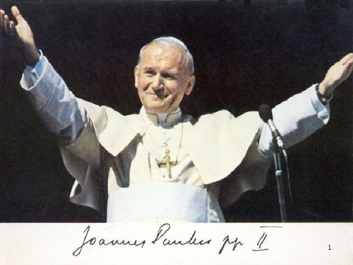Karol Wojtyła - Slajd 1