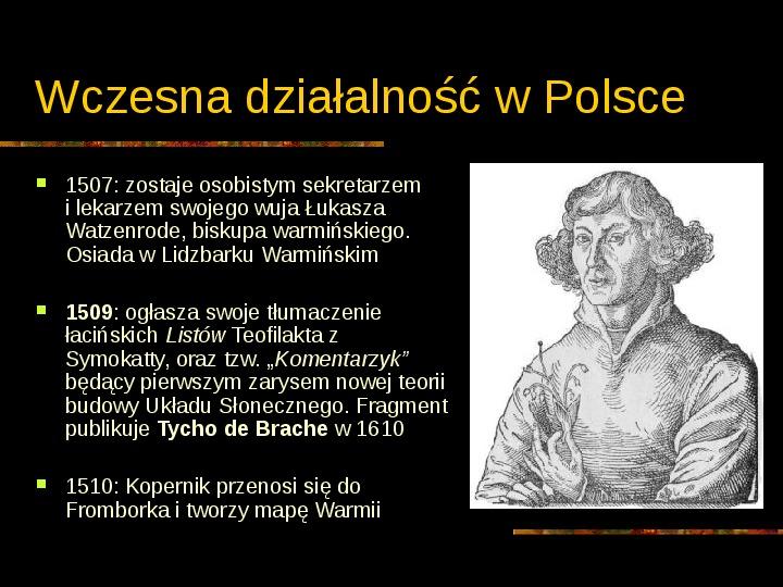 Mikołaj Kopernik - Slajd 5