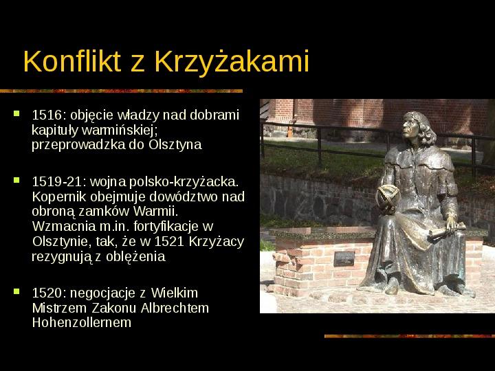 Mikołaj Kopernik - Slajd 9