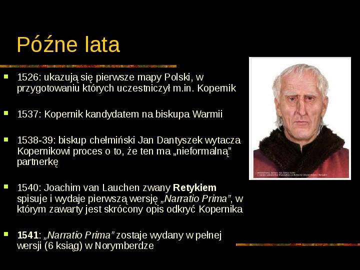 Mikołaj Kopernik - Slajd 11