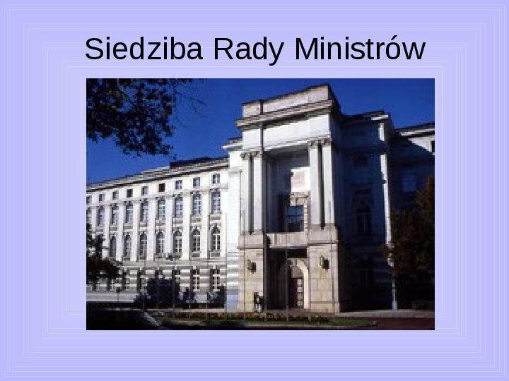Rada ministrów - Slajd 1
