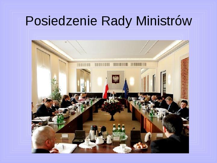 Rada ministrów - Slajd 2