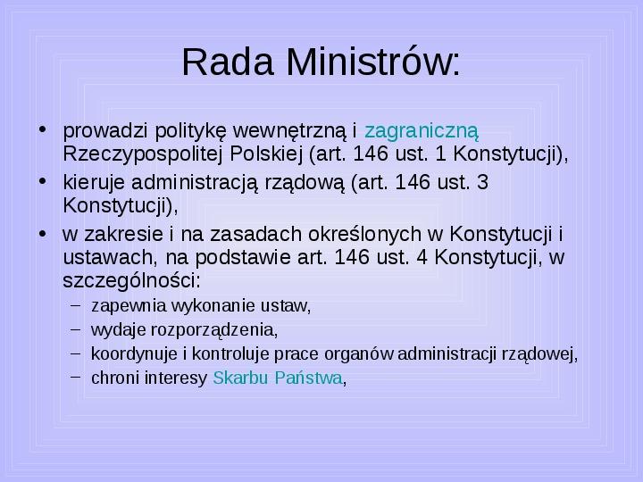 Rada ministrów - Slajd 7