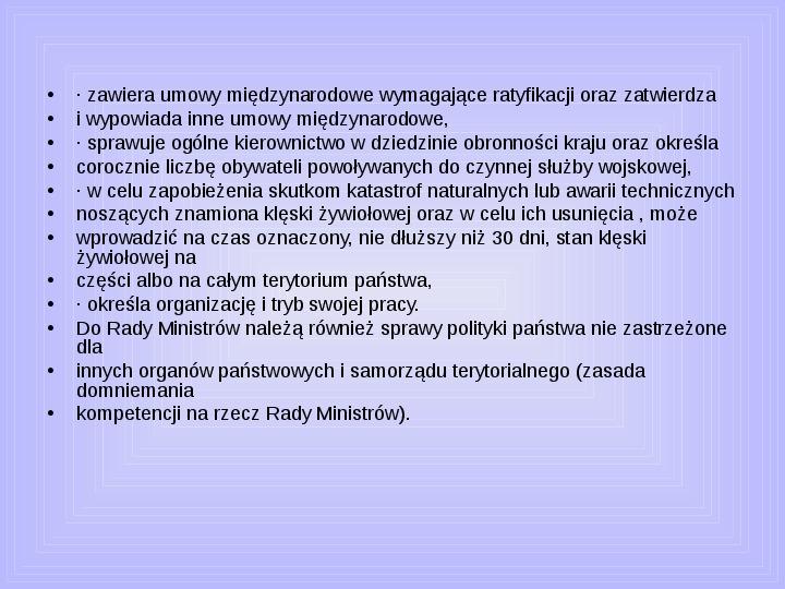 Rada ministrów - Slajd 37