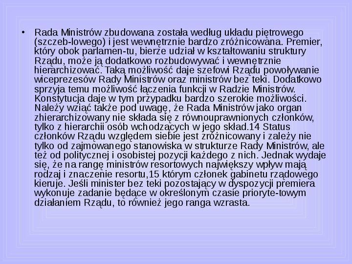 Rada ministrów - Slajd 47