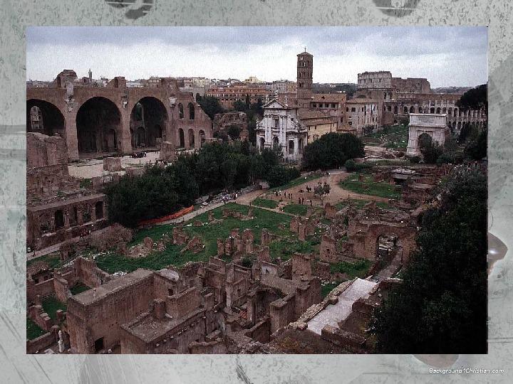 Kultura Imperium Rzymskiego - Slajd 13