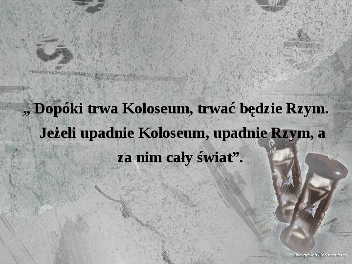 Kultura Imperium Rzymskiego - Slajd 18