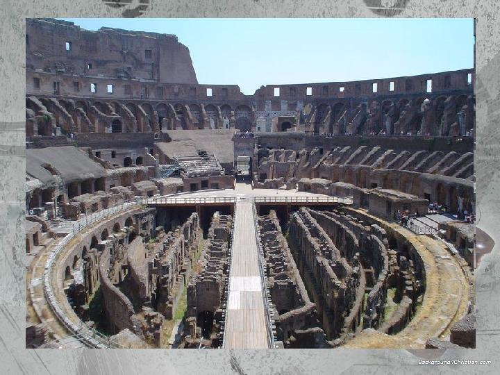 Kultura Imperium Rzymskiego - Slajd 21