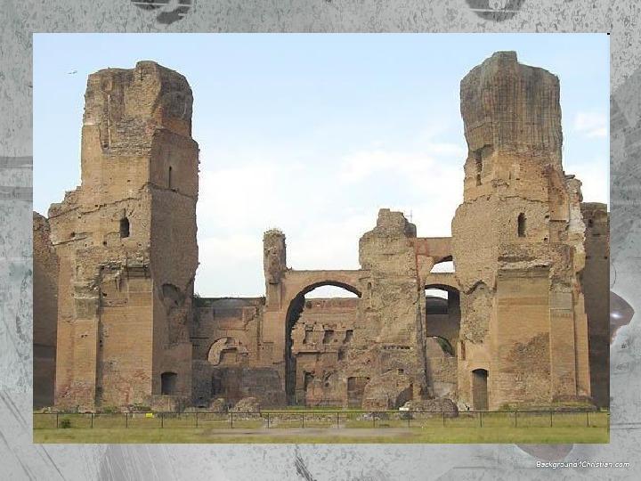 Kultura Imperium Rzymskiego - Slajd 35