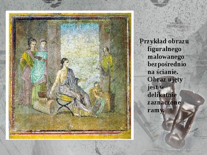 Kultura Imperium Rzymskiego - Slajd 47